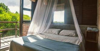 La Casa de la Luna - La Pedrera - Bedroom
