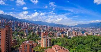 The Morgana Poblado Suites Hotel - Medellín - Außenansicht