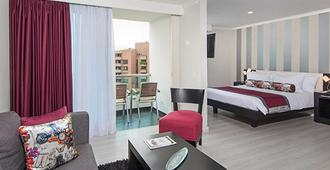 The Morgana Poblado Suites Hotel - Medellín - Soveværelse