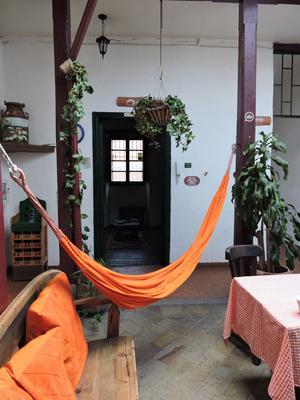 Chocolate Hostel - Bogotá - Innenhof