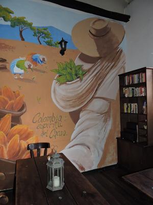 Chocolate Hostel - Bogotá - Dining room