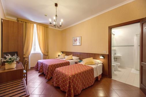 柯洛納酒店 - 羅馬 - 羅馬 - 臥室