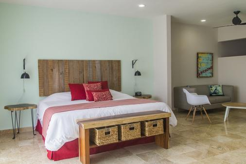 Koox Downtown Family Boutique Hotel - Playa del Carmen - Bedroom