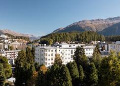 Hotel Laudinella - Сент-Моріц - Вигляд зовні