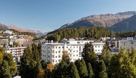Hotel Laudinella - São Moritz - Vista externa