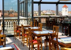 羅馬尼克宮殿酒店 - 羅馬 - 羅馬 - 餐廳