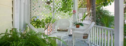 The Garden House - Key West - Βεράντα