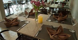 Hotel Morada Das Aguas - קלדס נובאס - מסעדה