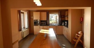 Gite du Moulin Iris - Francorchamps - Dining room