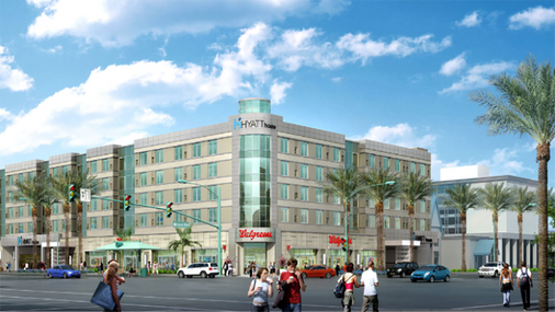 Hyatt House at Anaheim Resort/Convention Center - Anaheim - Building