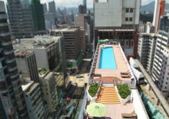 Prudential Hotel - Hong Kong - Azotea