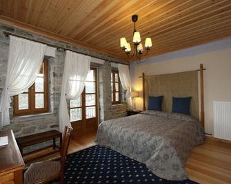 Rodia Boutique Hotel - Kípoi - Schlafzimmer