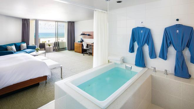 โรงแรมทาวเวอร์23 - ซานดีเอโก - ห้องน้ำ