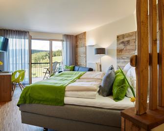 Steinbergs Wildewiese Naturhotel - Sundern - Schlafzimmer