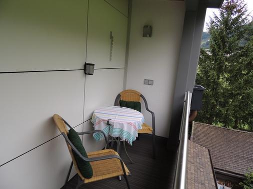 Gästehaus Alpina - Sankt Anton am Arlberg - Balcony