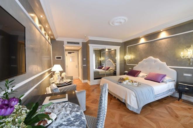 Savoia & Jolanda - Venetsia - Makuuhuone