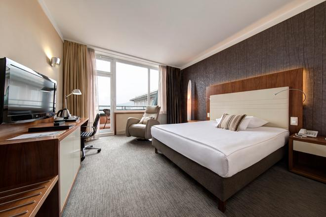格蘭德聯盟商務酒店 - 留布利安納 - 盧布爾雅那 - 臥室