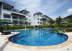 布吉班陶熱帶別墅溫泉渡假酒店 - 承塔萊 - 邦濤海灘 - 游泳池