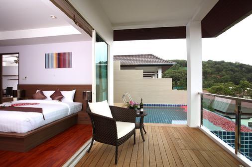 布吉班陶熱帶別墅溫泉渡假酒店 - 承塔萊 - 邦濤海灘 - 陽台