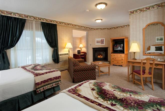 金鷹酒店 - 斯托 - 斯托(佛蒙特州) - 臥室