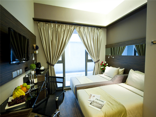 Parc Sovereign Hotel - Tyrwhitt - Singapore - Bedroom