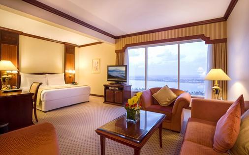 阿布扎比千禧濱海酒店 - 阿布達比 - 阿布達比 - 臥室