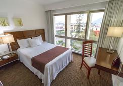 Hotel Fray Junípero Serra - Tepic - Schlafzimmer