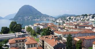 Hotel Pestalozzi Lugano - Lugano - Vista externa
