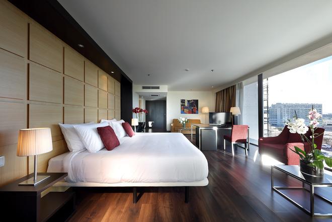 Hotel Eurostars Zaragoza - Zaragoza - Makuuhuone