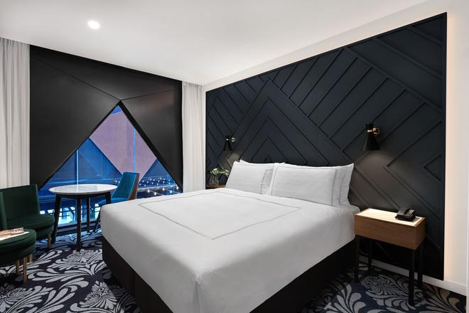 西悉尼酒店 - 悉尼希爾頓格芮精選酒店 - 雪梨 - 臥室