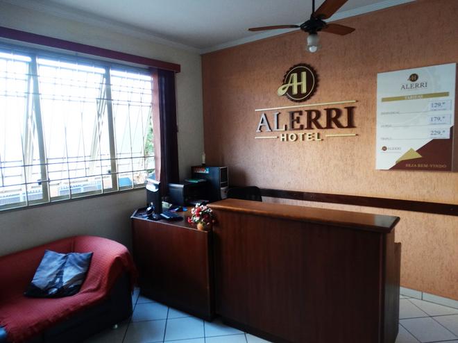 Alerri Hotel - Ribeirão Preto - Front desk