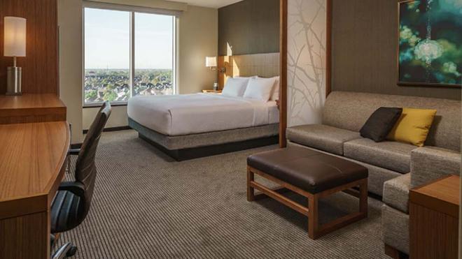 Hyatt Place Houston/Galleria - Houston - Bedroom