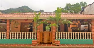 Hostal Cocobomgo - Minca - Hoteleingang