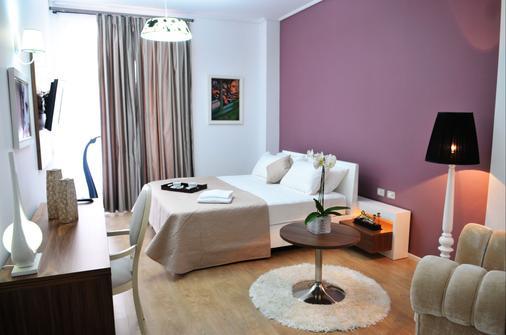 Golden City Hotel - Tirana - Bedroom