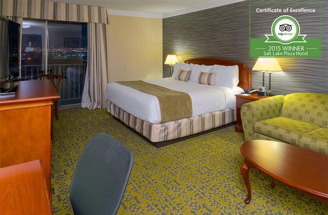 Salt Lake Plaza Hotel at Temple Square - Солт-Лейк-Сити - Спальня