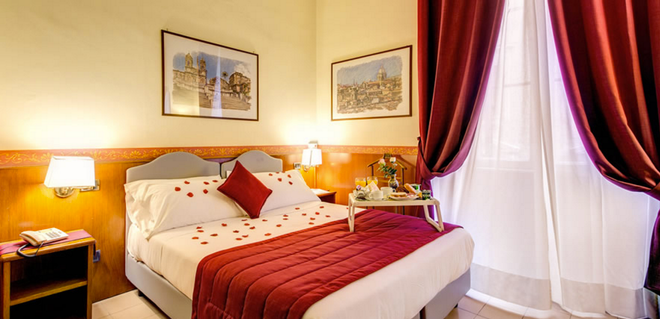 Hotel Giotto Flavia - Rooma - Makuuhuone