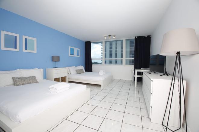 Beach Apartments by Design Suites - Miami Beach - Bedroom