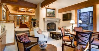 Sitzmark Lodge - Vail - Sala de estar