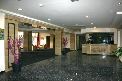 Regal Park Hotel - Rome - Front desk