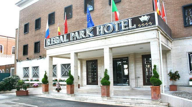 Regal Park Hotel - Rom - Bygning