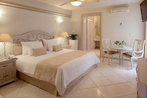 Hotel & Suites Quinta Magna - Guadalajara - Makuuhuone