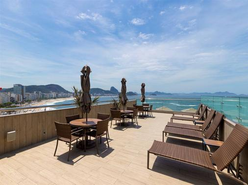 Orla Copacabana Hotel - Rio de Janeiro - Parveke