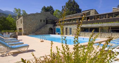 Hotel E Caselle - Venaco - Piscina