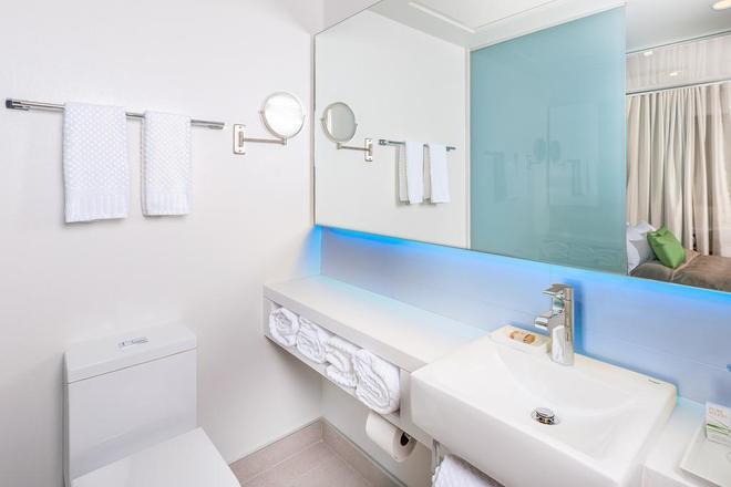魁北克勞里爾城堡酒店 - 魁北克 - 魁北克市 - 浴室