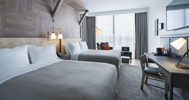 華盛頓特區碼頭希爾頓嘉諾賓飯店 - 華盛頓 - 臥室