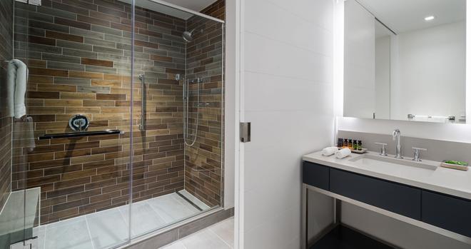 華盛頓特區碼頭希爾頓嘉諾賓飯店 - 華盛頓 - 浴室