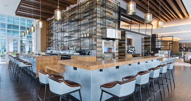 華盛頓特區碼頭希爾頓嘉諾賓飯店 - 華盛頓 - 酒吧