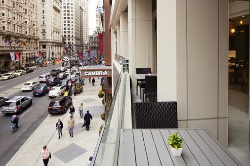 Cambria Hotel Philadelphia Downtown - Center City - Filadelfia - Balcón
