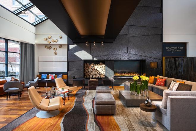 The Baronette Renaissance Detroit-Novi Hotel - Novi - Oleskelutila