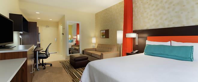 鹽湖城東部希爾頓惠庭套房酒店 - 鹽湖城 - 鹽湖城 - 臥室